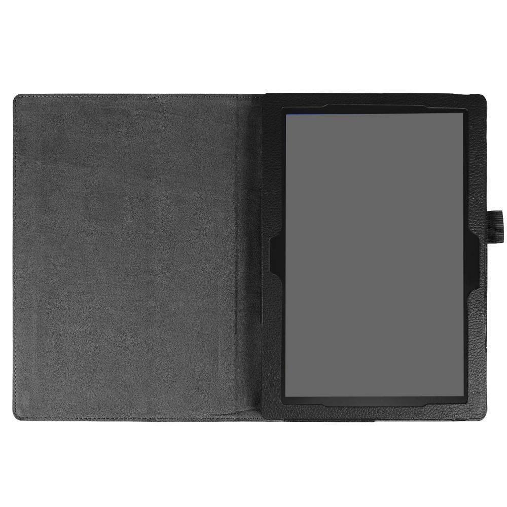 Läderfodral Lenovo Tab 4 10/Tab 4 10 Plus svart