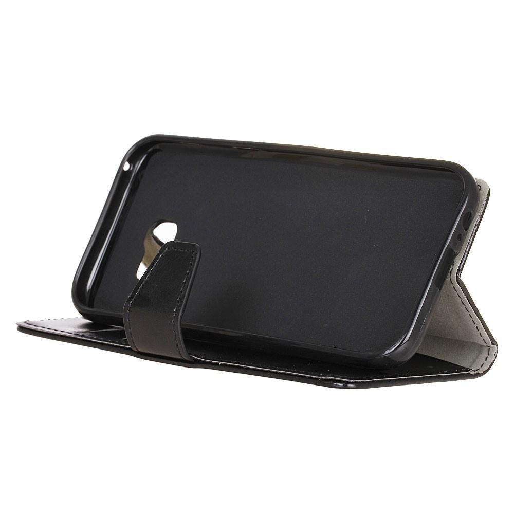 Läderplånbok Samsung Galaxy Xcover 4/4s svart