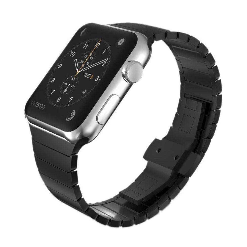 Länkarmband Apple Watch 42/44 mm svart