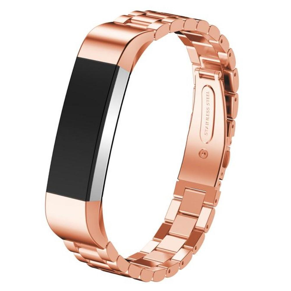 Metallarmband Fitbit Alta/Alta HR roséguld