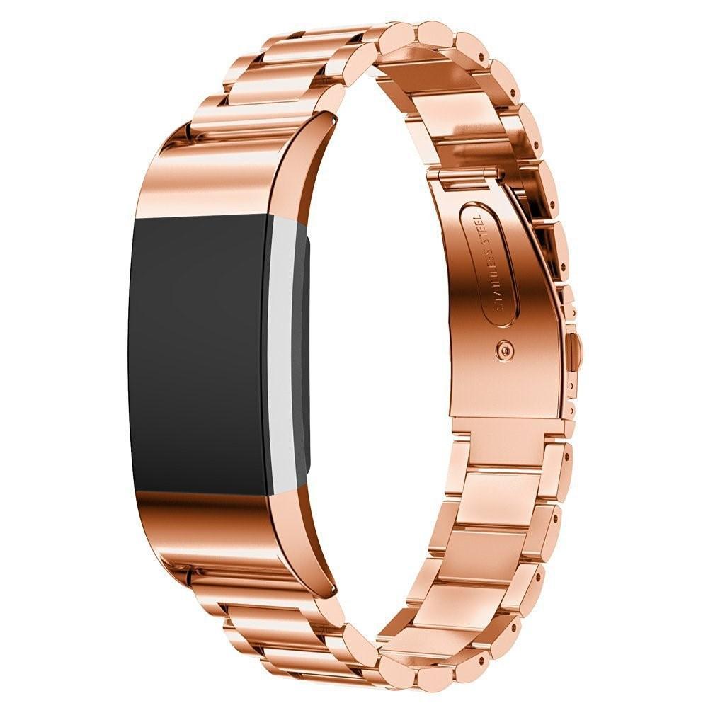 Metallarmband Fitbit Charge 2 roséguld