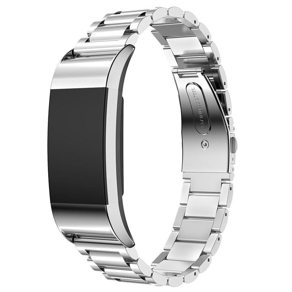 Metallarmband Fitbit Charge 2 silver