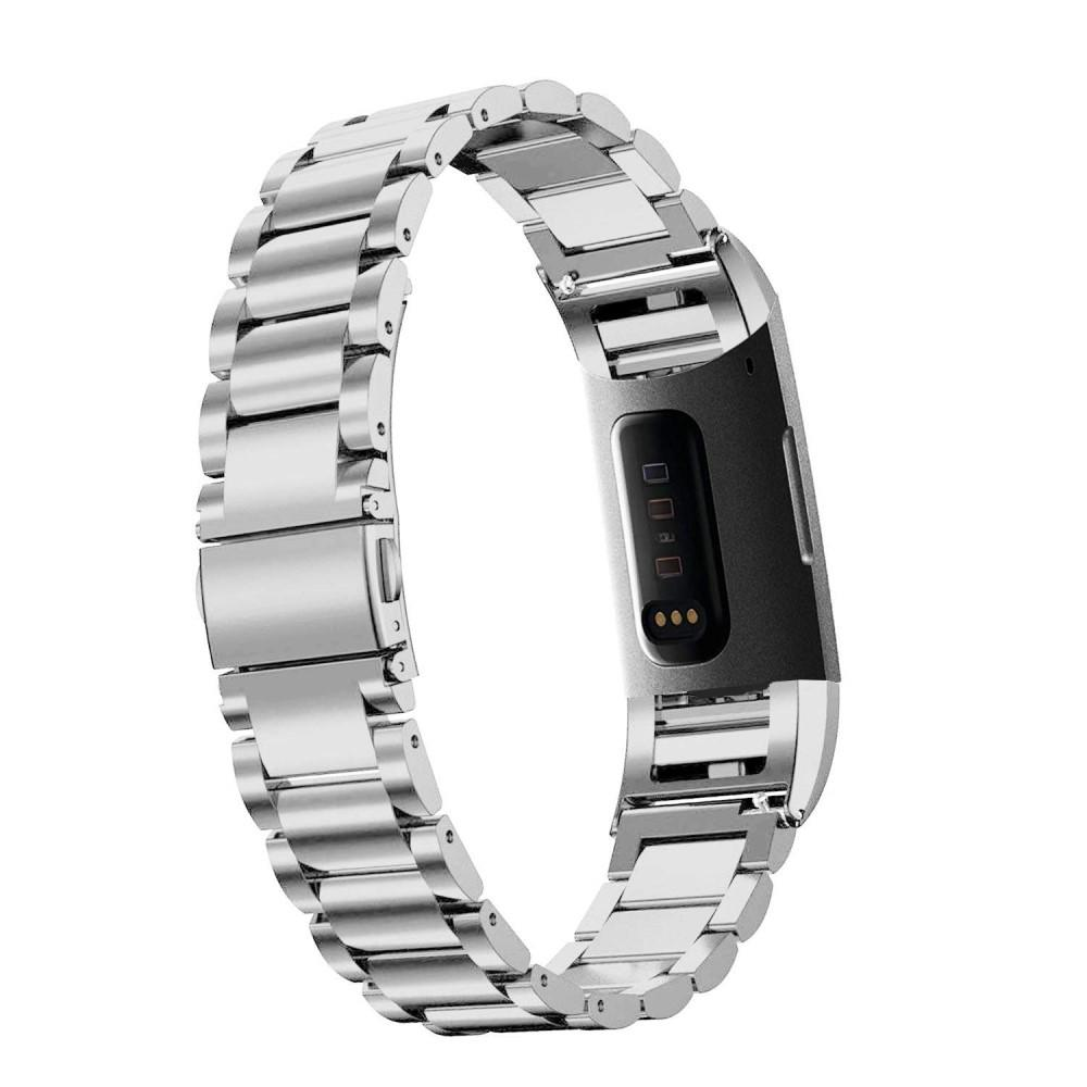Metallarmband Fitbit Charge 3/4 silver
