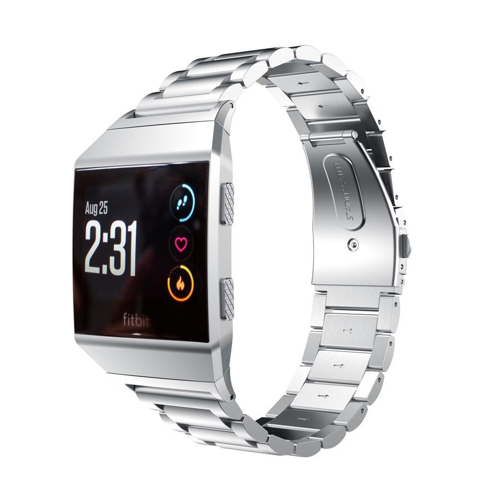 Metallarmband Fitbit Ionic silver