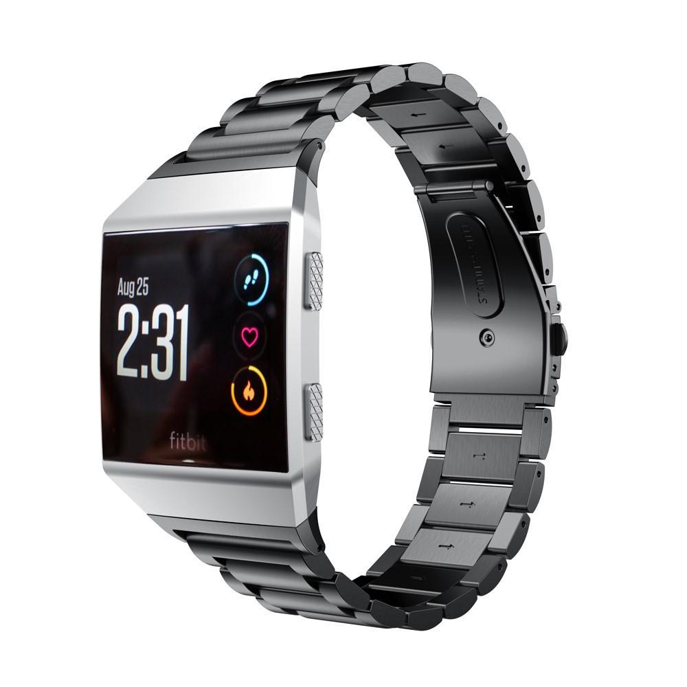 Metallarmband Fitbit Ionic svart