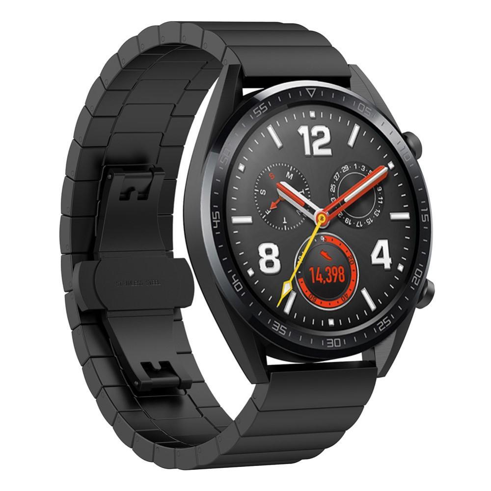 Länkarmband Huawei Watch GT/GT 2 Pro/GT 2 46mm svart
