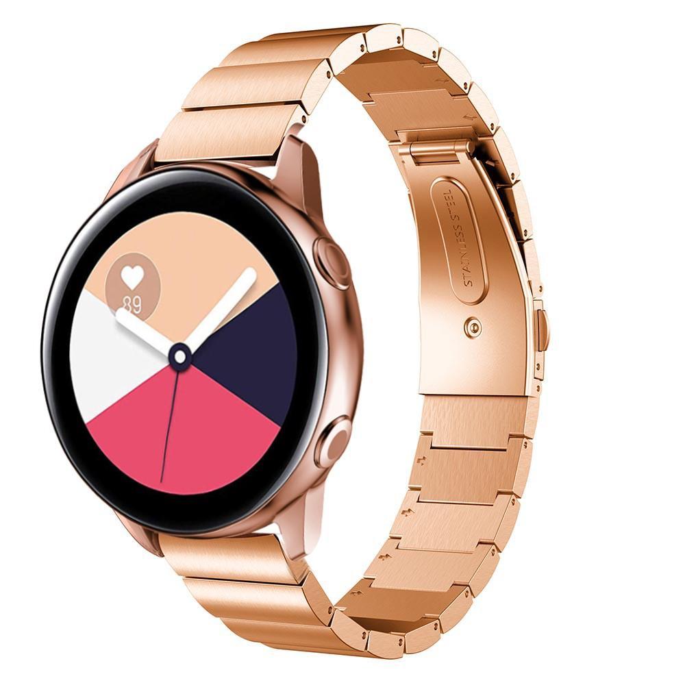 Länkarmband Samsung Galaxy Watch Active roséguld