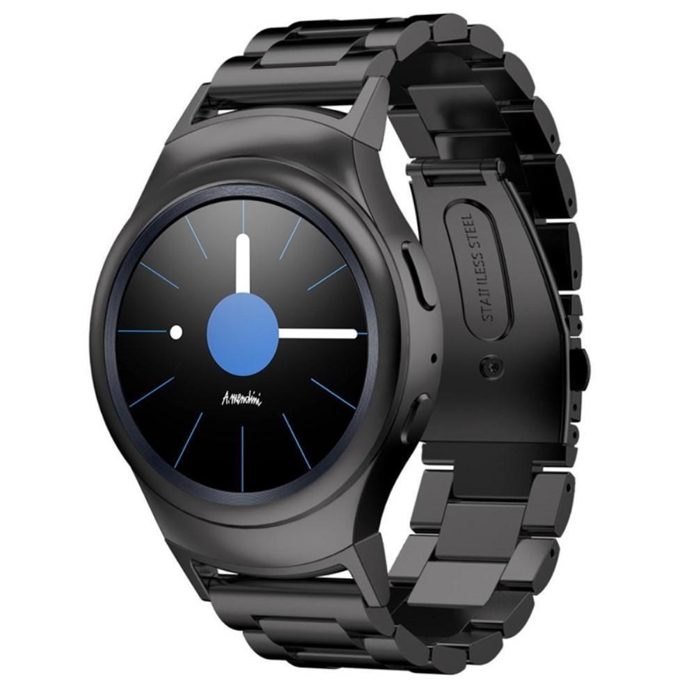 Metallarmband Samsung Gear S2 svart