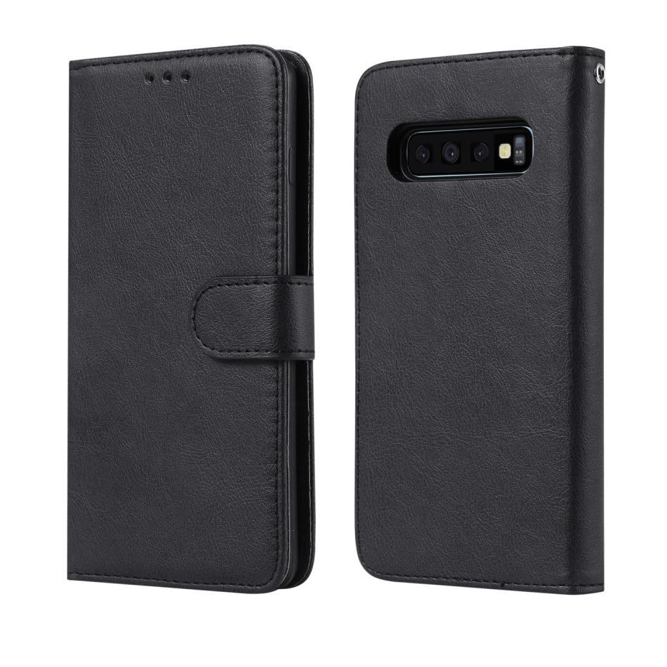 Magnetfodral Samsung Galaxy S10 svart