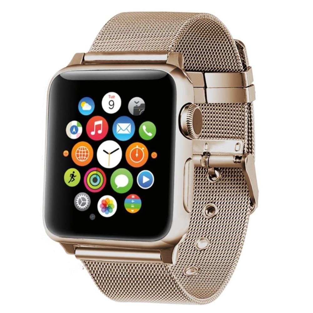 Mesh Bracelet Apple Watch 38/40 mm Champagne Gold