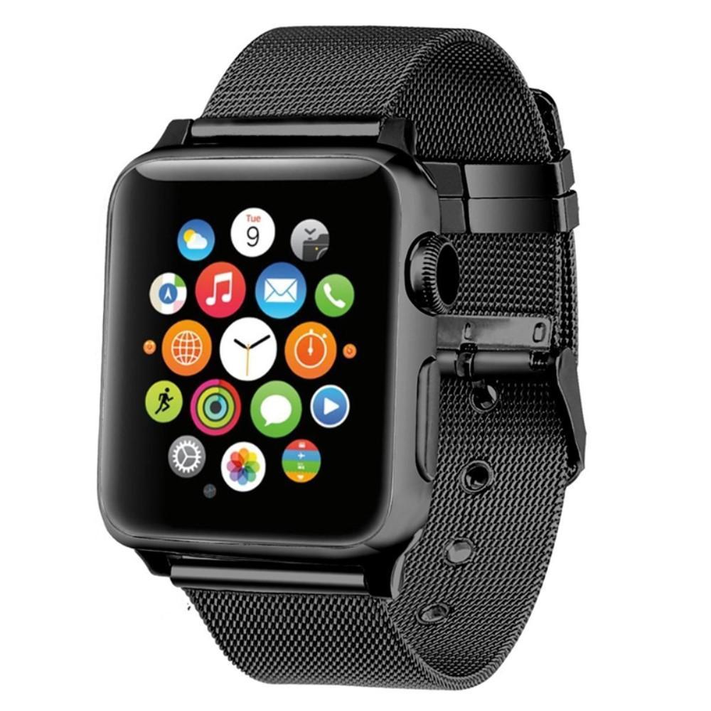 Mesh Bracelet Apple Watch 42/44/45 mm Black