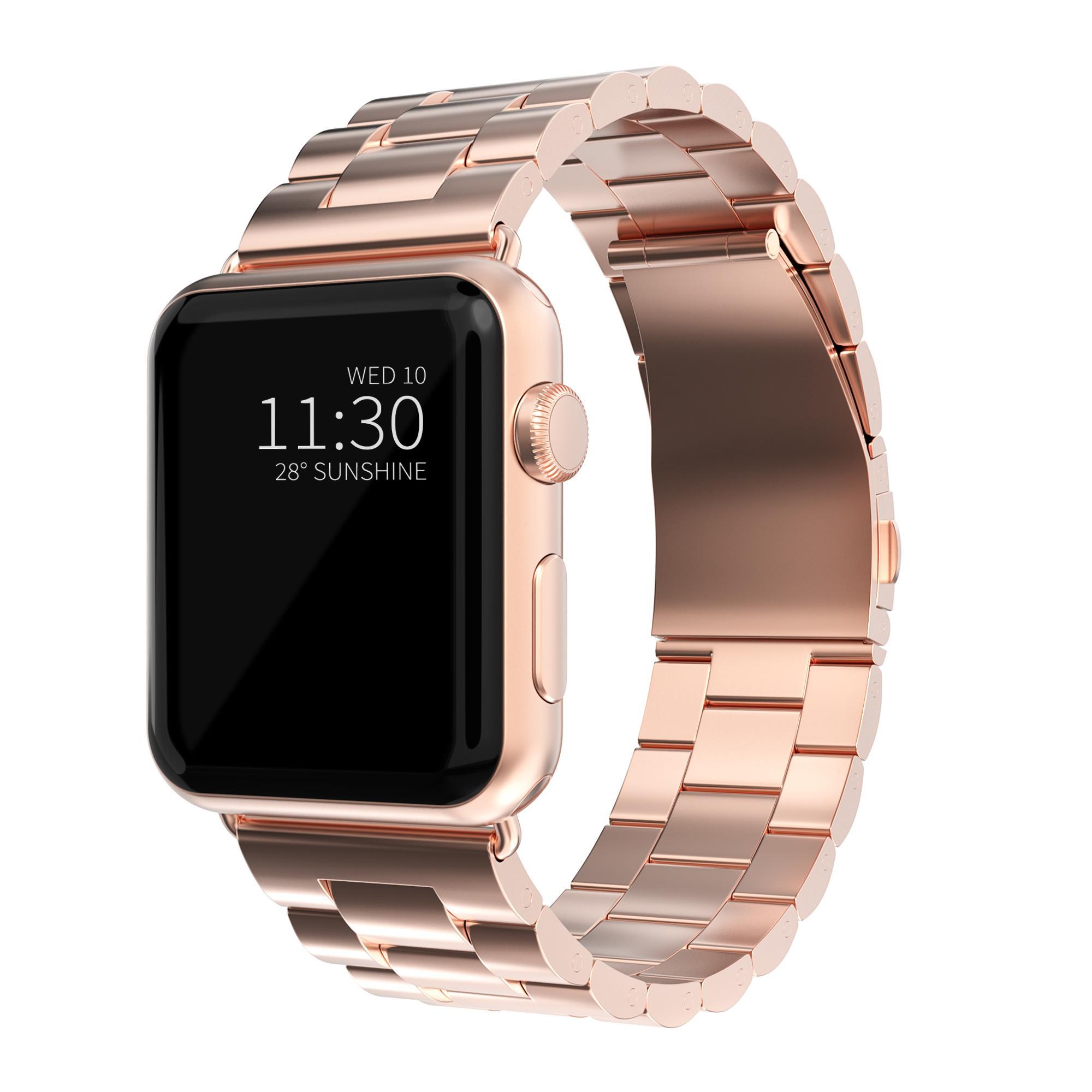Metallarmband Apple Watch 42/44 mm roséguld