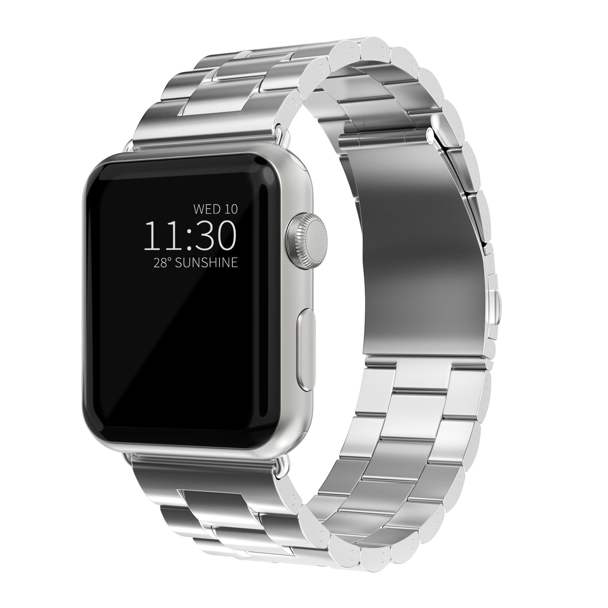 Metallarmband Apple Watch 42/44 mm silver