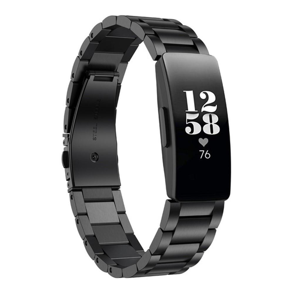 Metallarmband Fitbit Inspire/Inspire HR/Inspire 2 svart