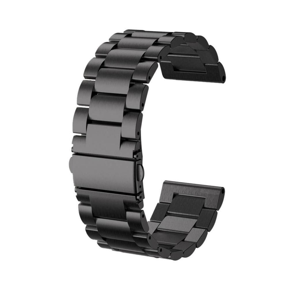 Metallarmband Garmin Fenix 3/3 HR/5X/5X Plus svart