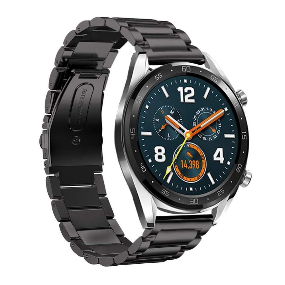 Metallarmband Huawei Watch GT/GT 2 46mm/GT 2e svart