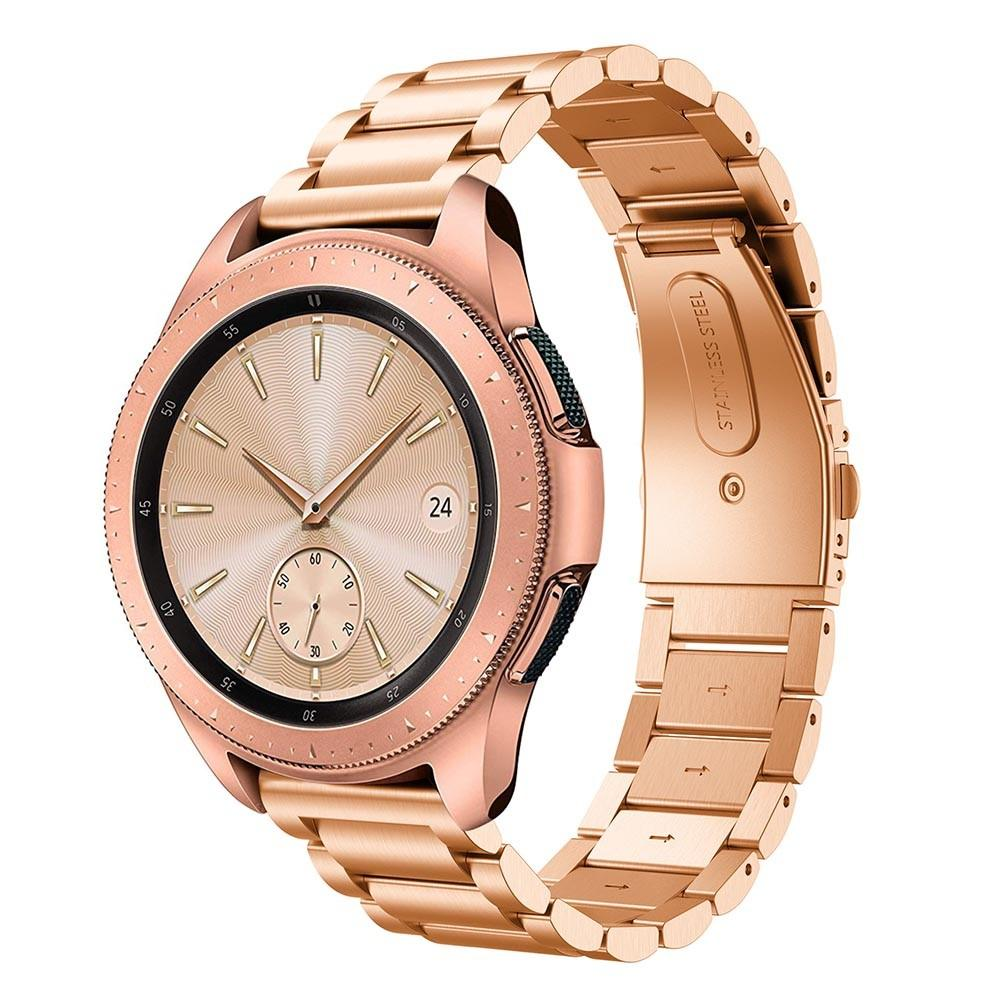 Metallarmband Samsung Galaxy Watch 42mm roséguld