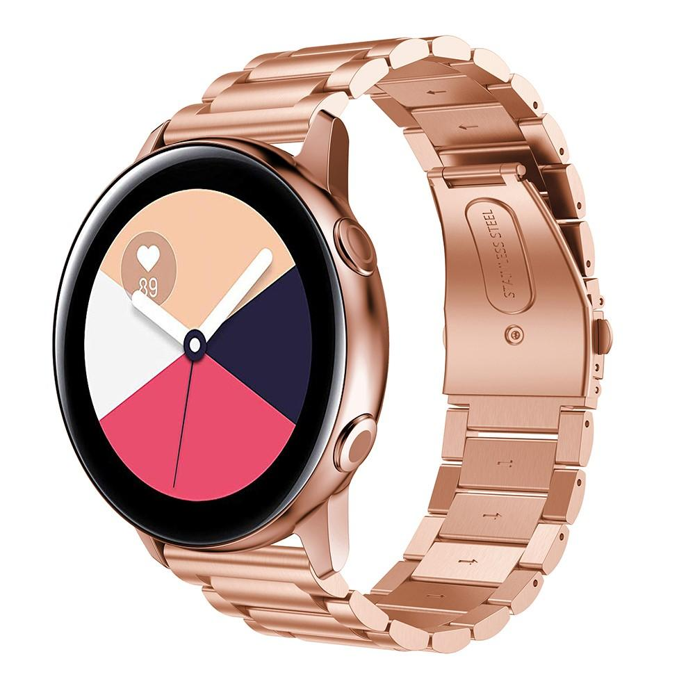 Metallarmband Samsung Galaxy Watch Active roséguld