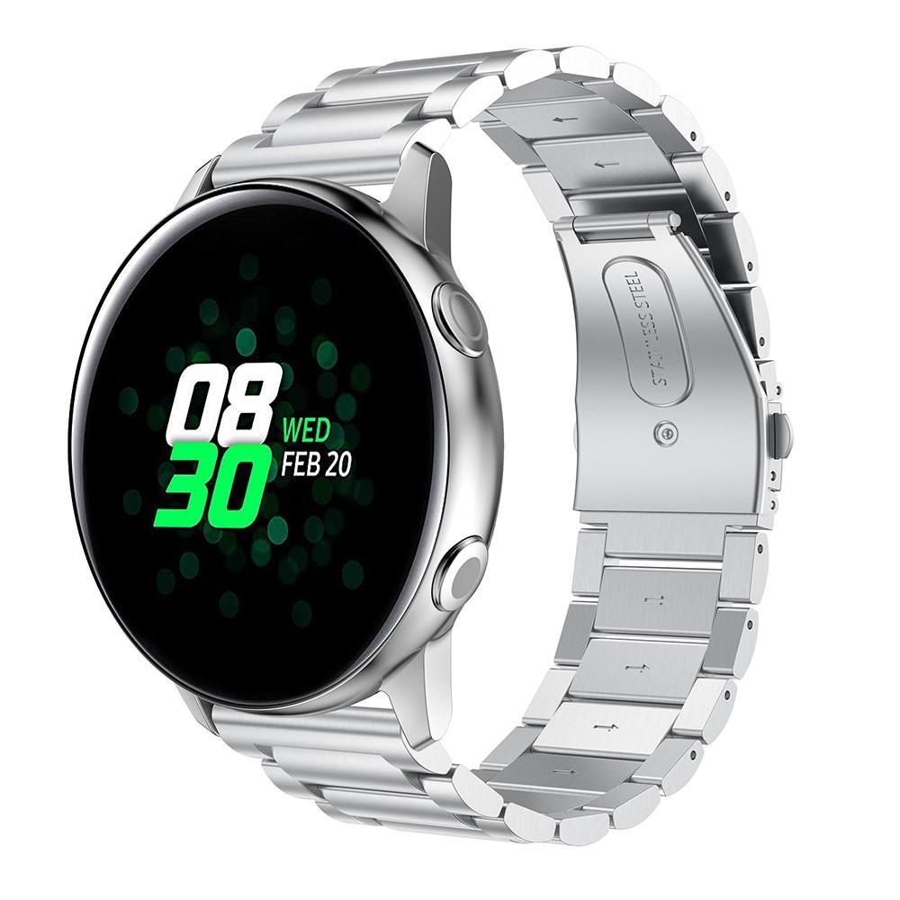 Metallarmband Samsung Galaxy Watch Active silver