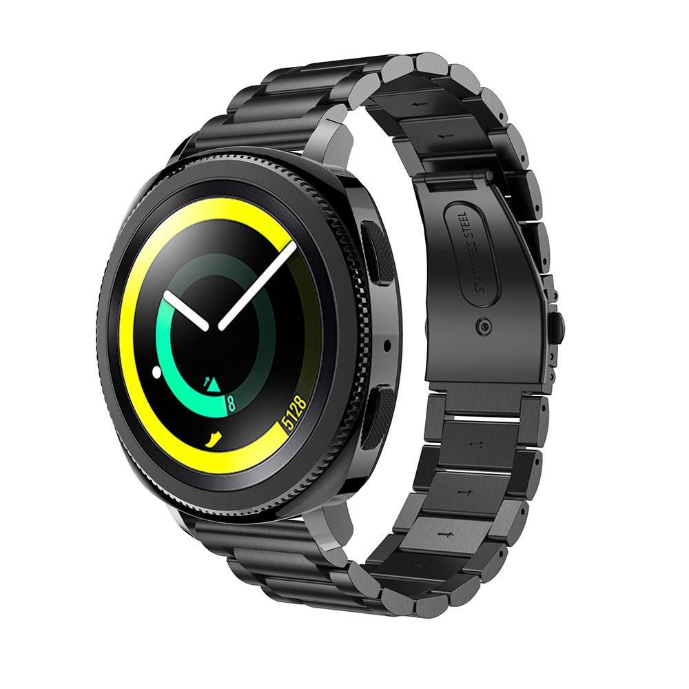 Metallarmband Samsung Gear Sport svart