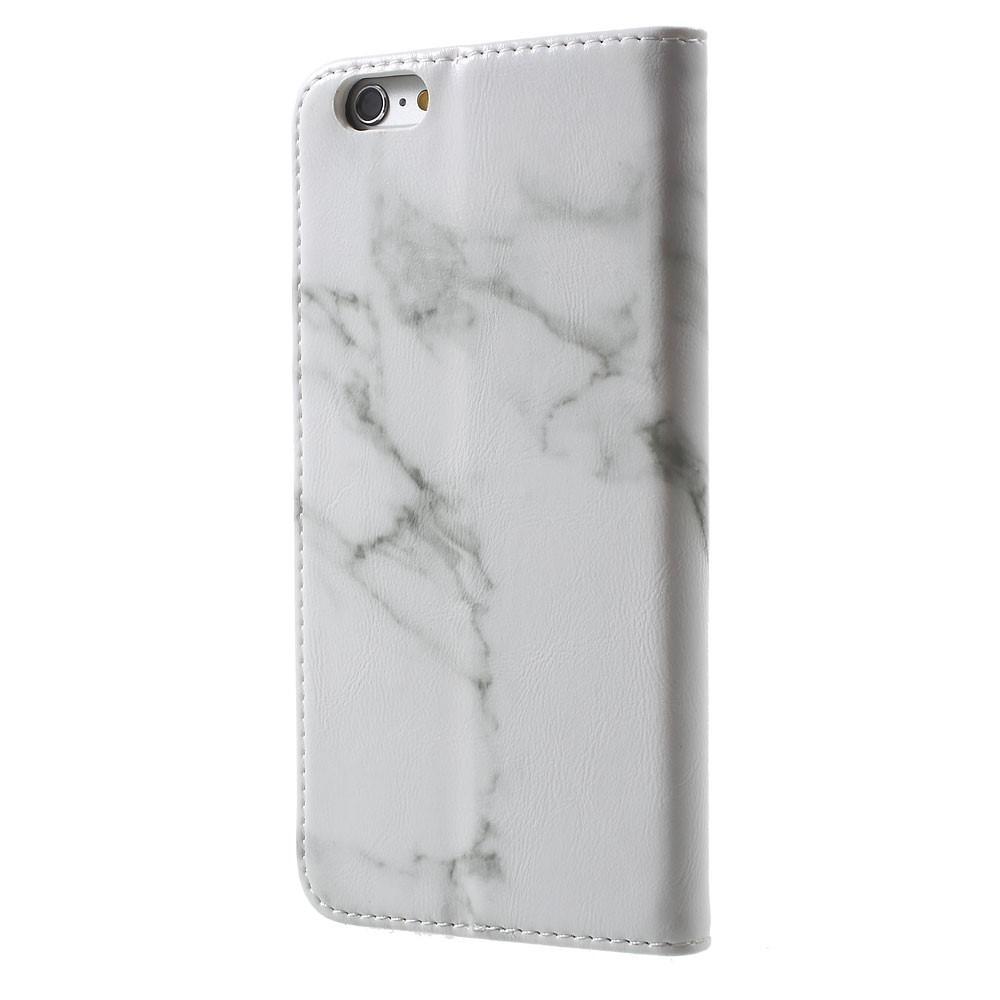 Mobilfodral Apple iPhone 6/6S Vit Marmor