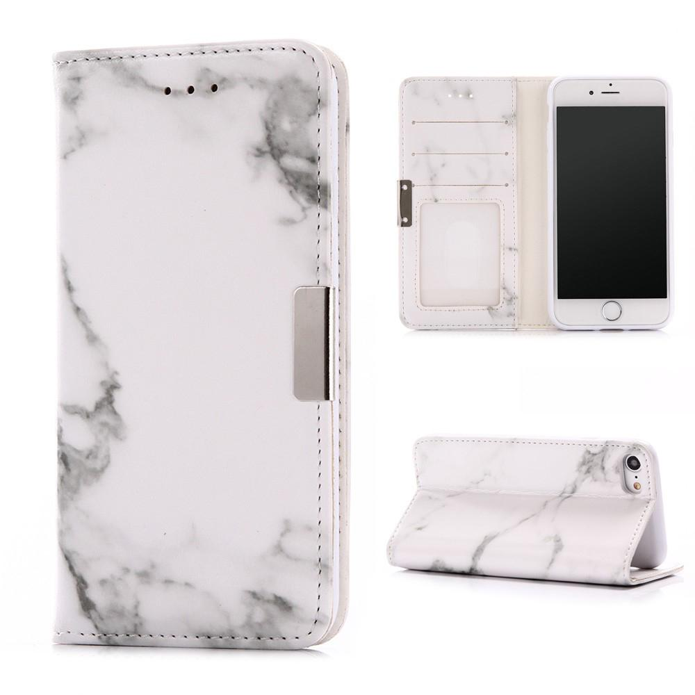Mobilfodral Apple iPhone 7/8/SE 2020 Vit Marmor