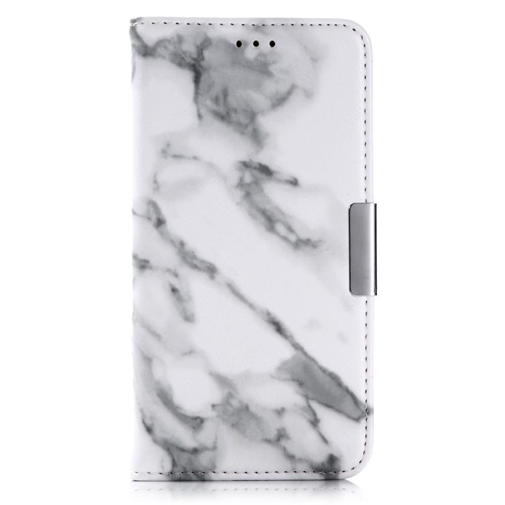 Mobilfodral Apple iPhone X/XS Vit Marmor