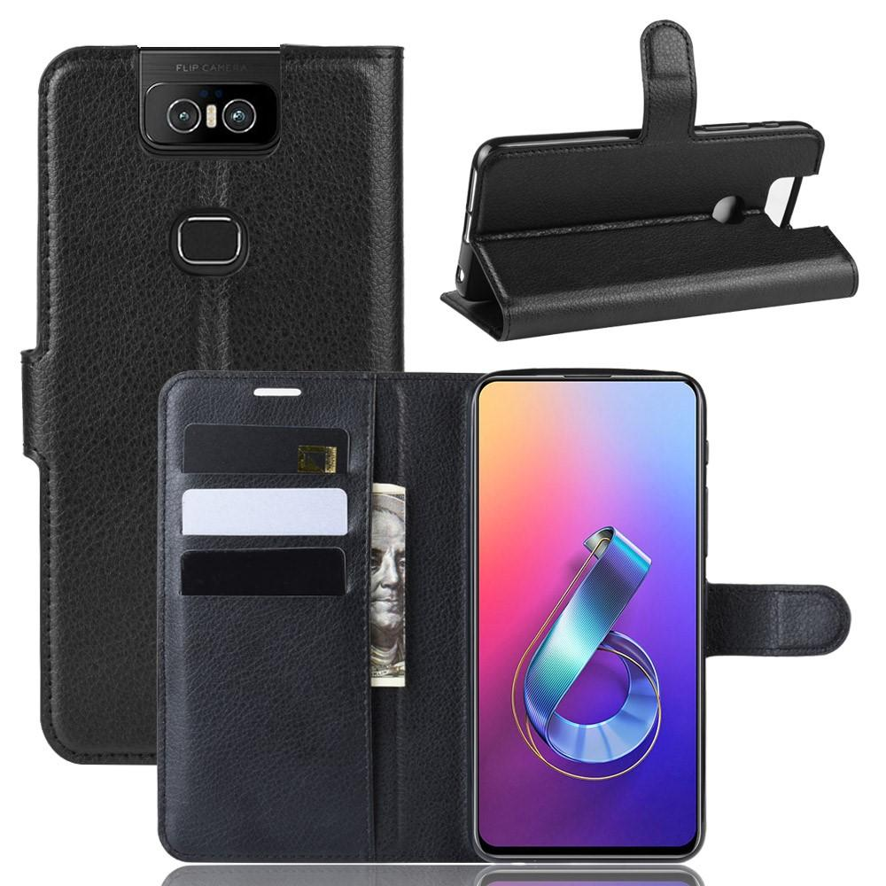 Mobilfodral Asus ZenFone 6 svart