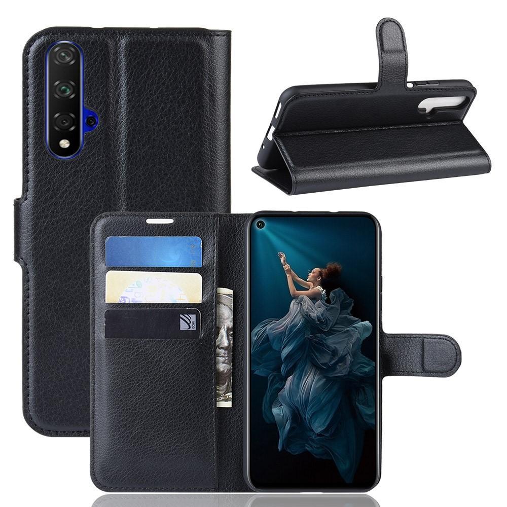 Mobilfodral Huawei Nova 5T/Honor 20 svart
