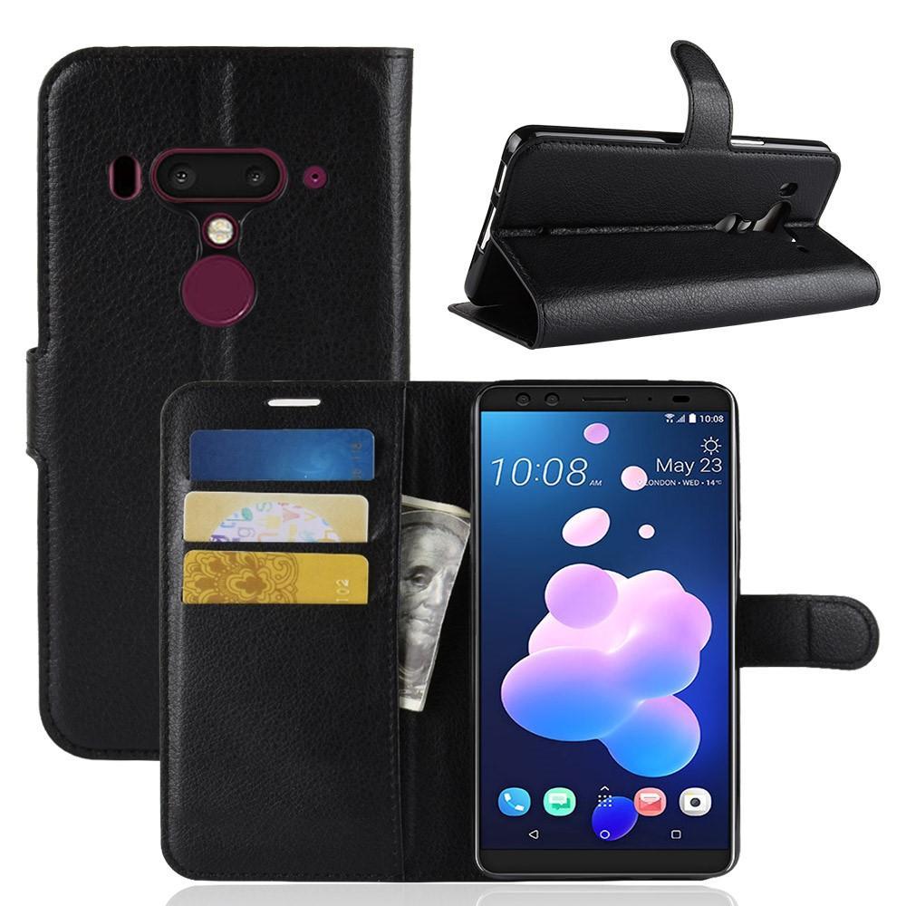 Mobilfodral HTC U12+ svart