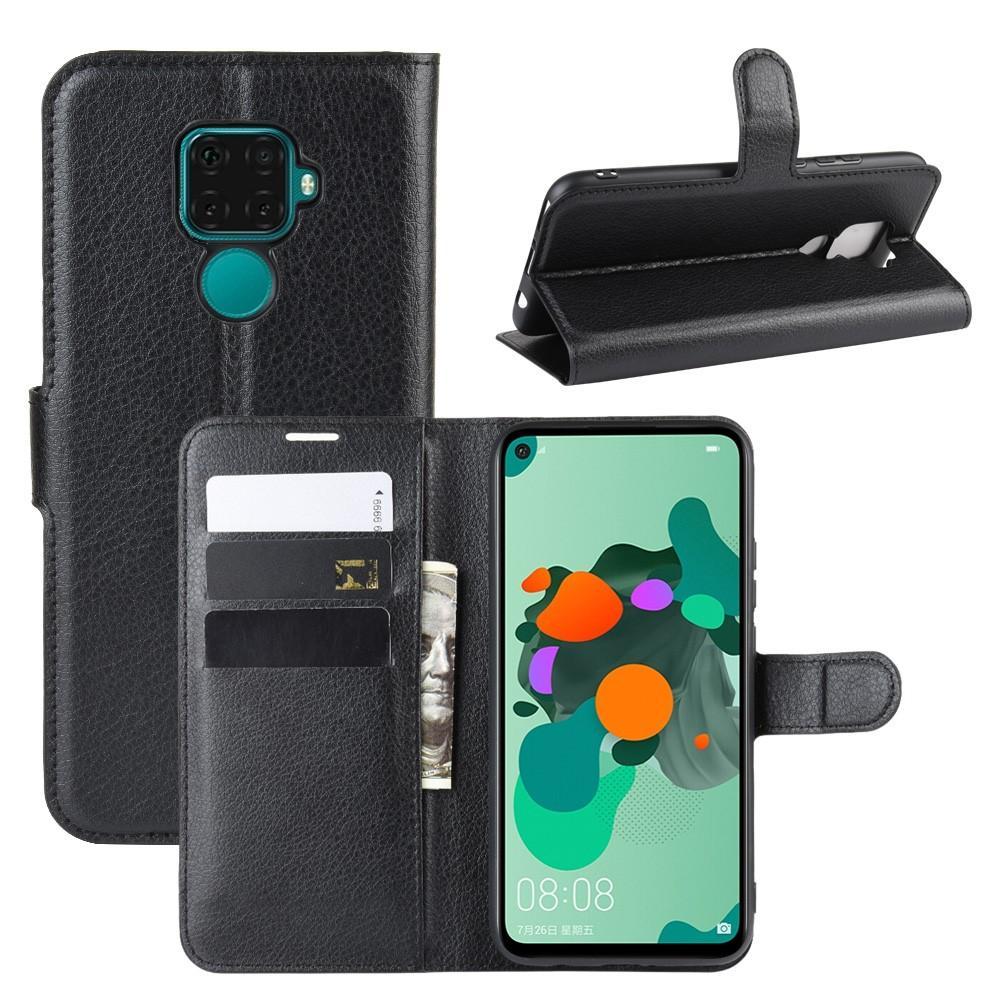 Mobilfodral Huawei Mate 30 Lite svart