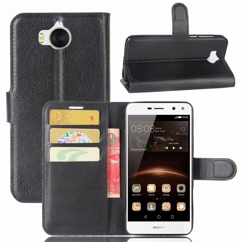 Mobilfodral Huawei Y6 2017 svart