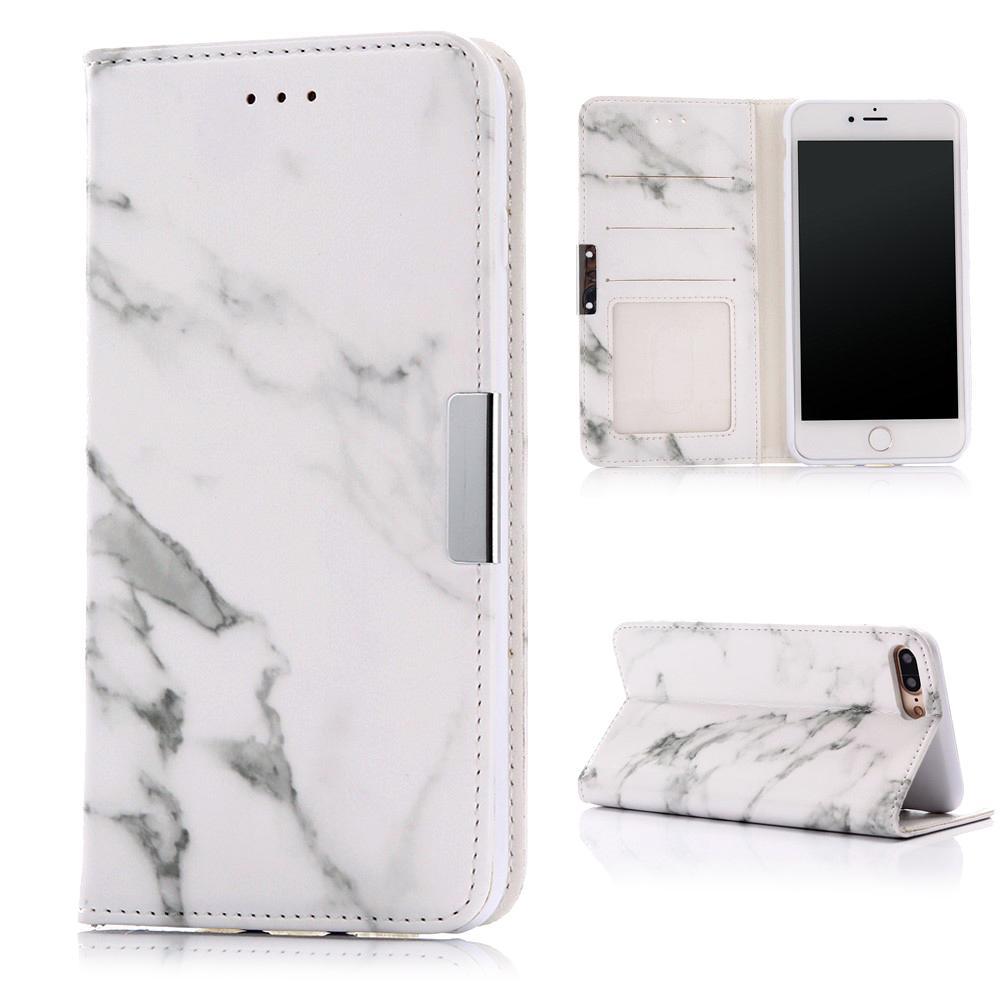 Mobilfodral iPhone iPhone 7 Plus/8 Plus Vit Marmor