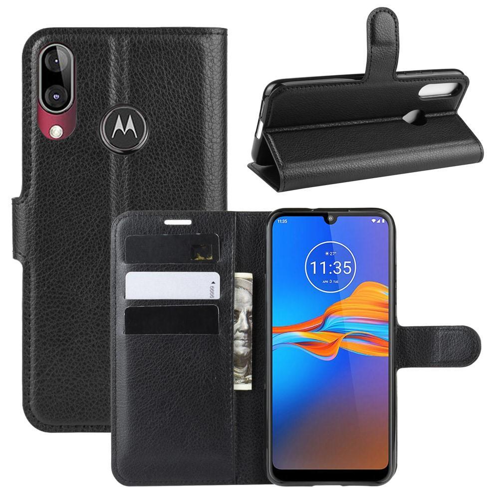 Mobilfodral Motorola Moto E6 Plus svart