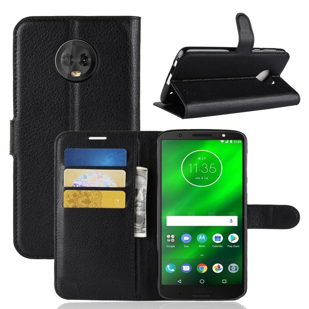 Mobilfodral Motorola Moto G6 Plus svart
