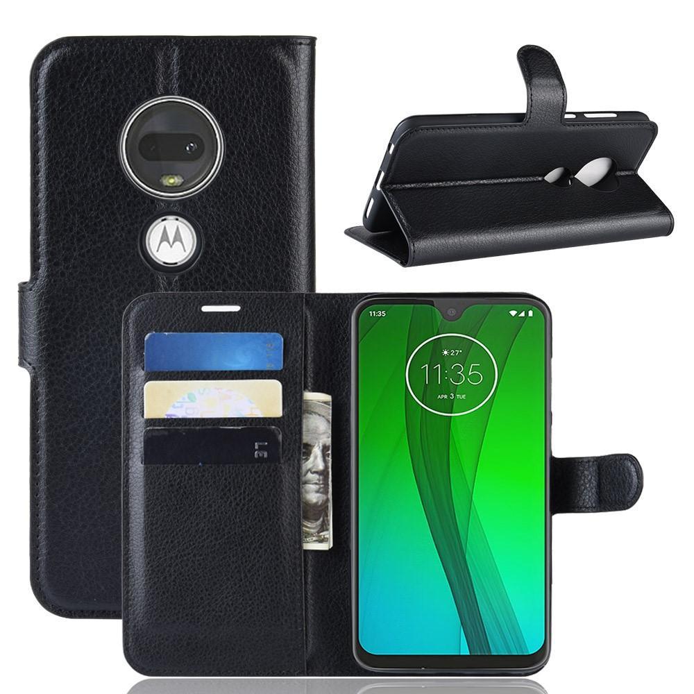 Mobilfodral Motorola Moto G7/G7 Plus svart