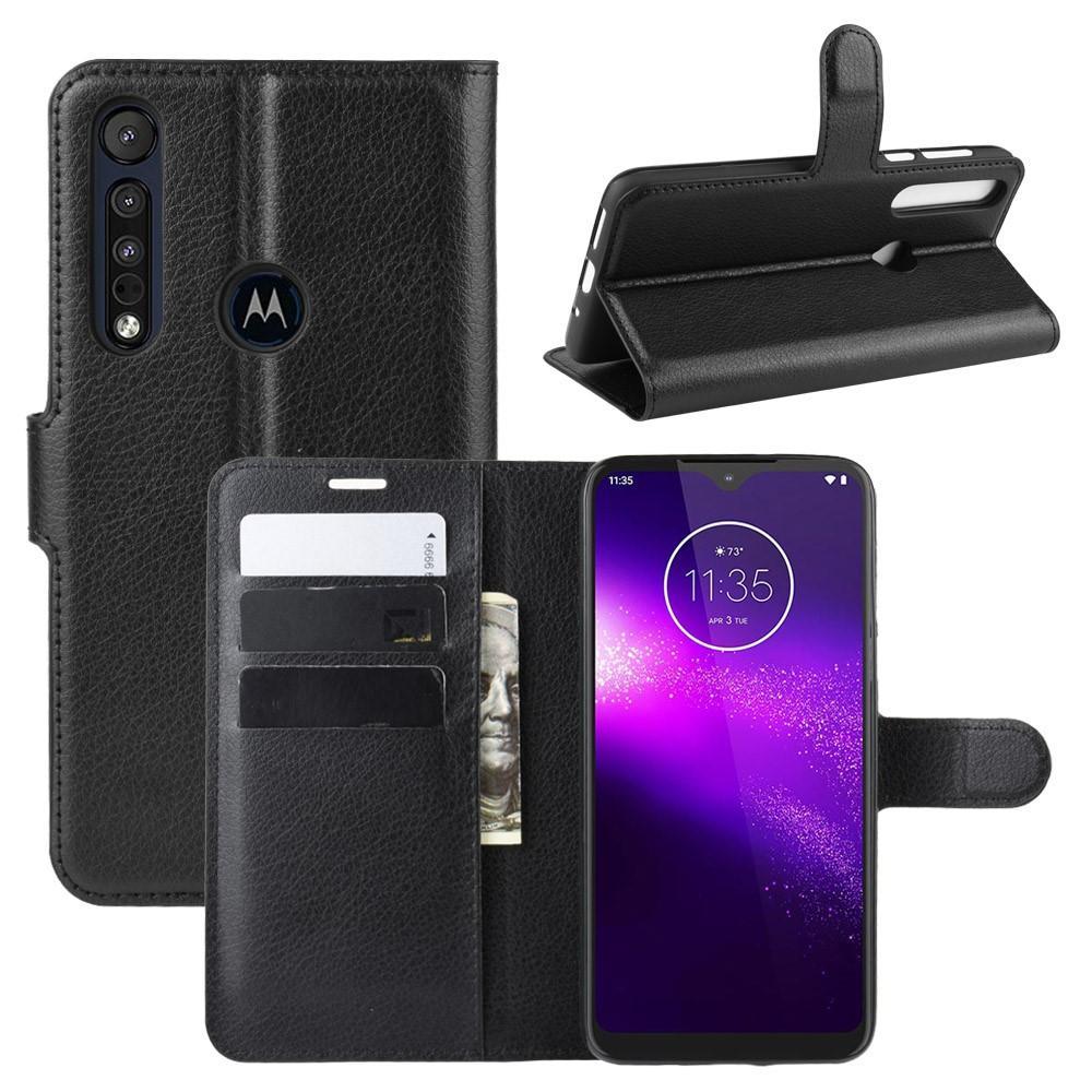 Mobilfodral Motorola One Macro svart