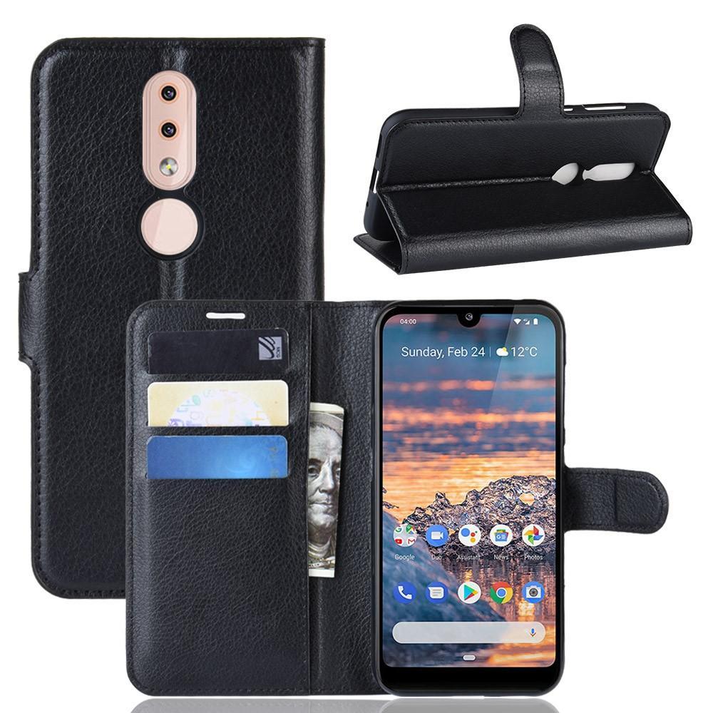 Mobilfodral Nokia 4.2 svart