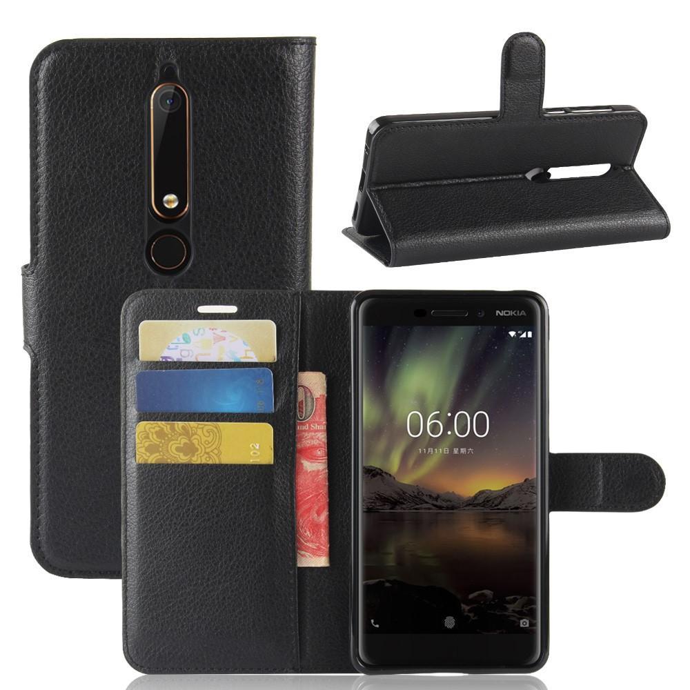 Mobilfodral Nokia 6.1 2018 svart