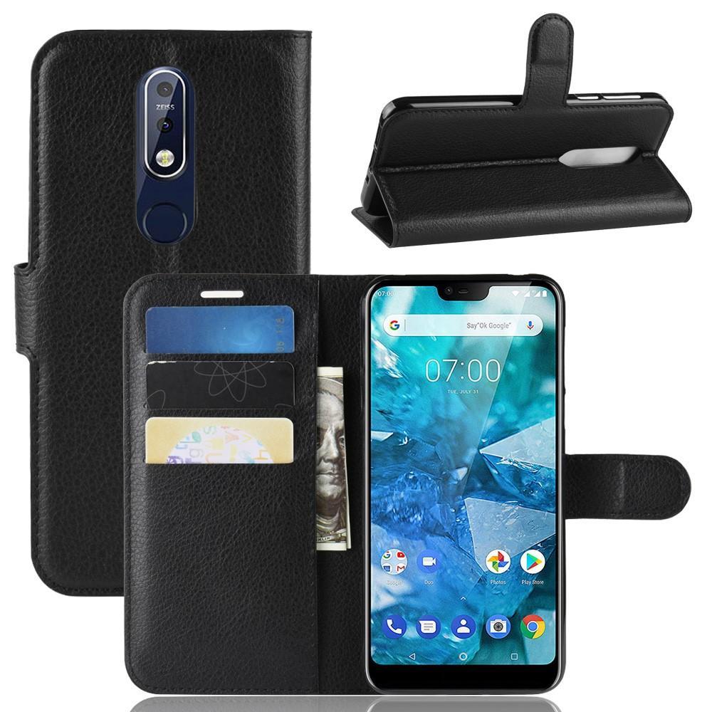 Mobilfodral Nokia 7.1 svart