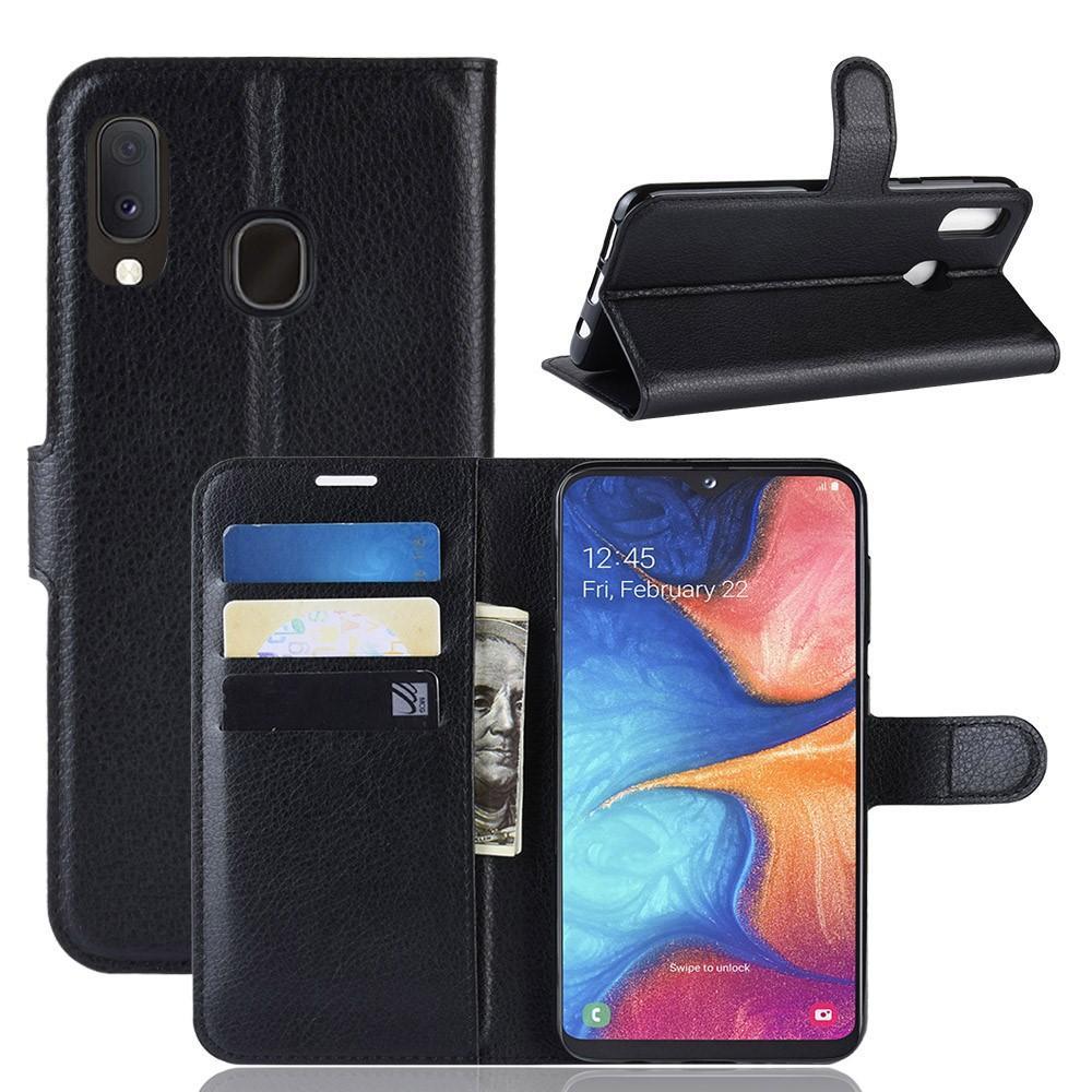 Mobilfodral Samsung Galaxy A20e svart