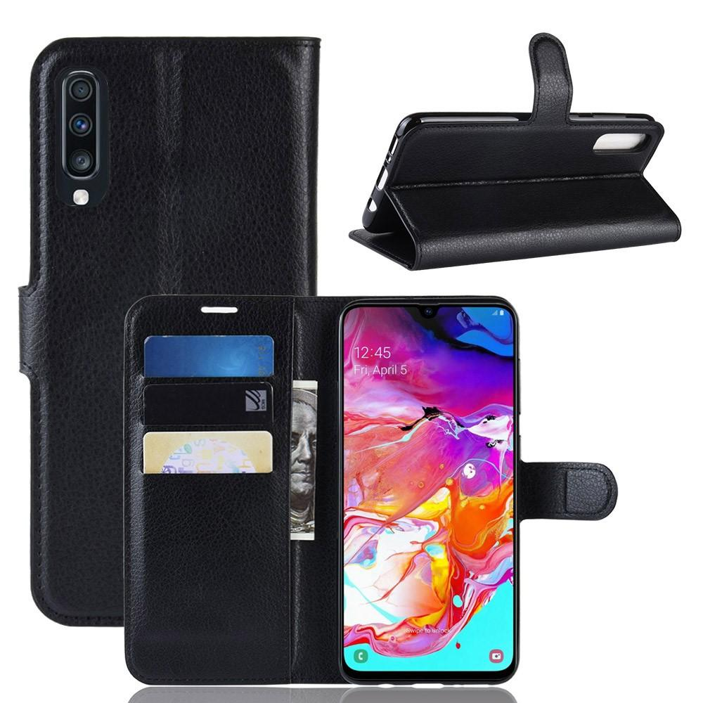 Mobilfodral Samsung Galaxy A70 svart
