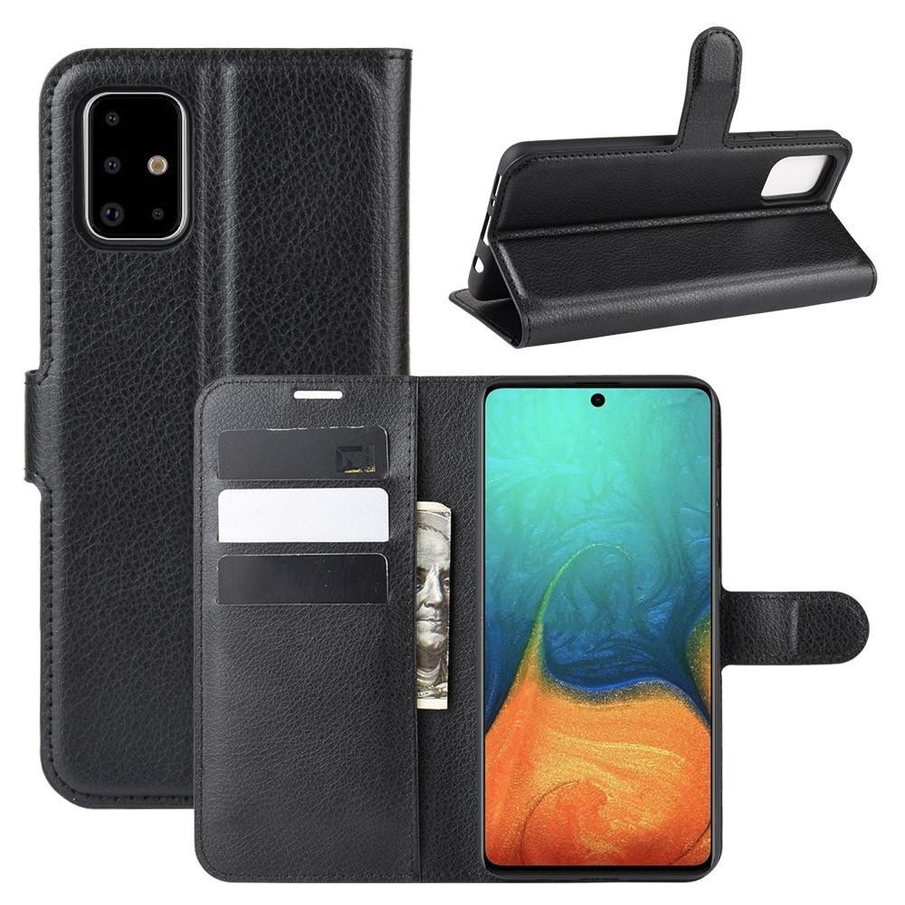 Mobilfodral Samsung Galaxy A71 svart