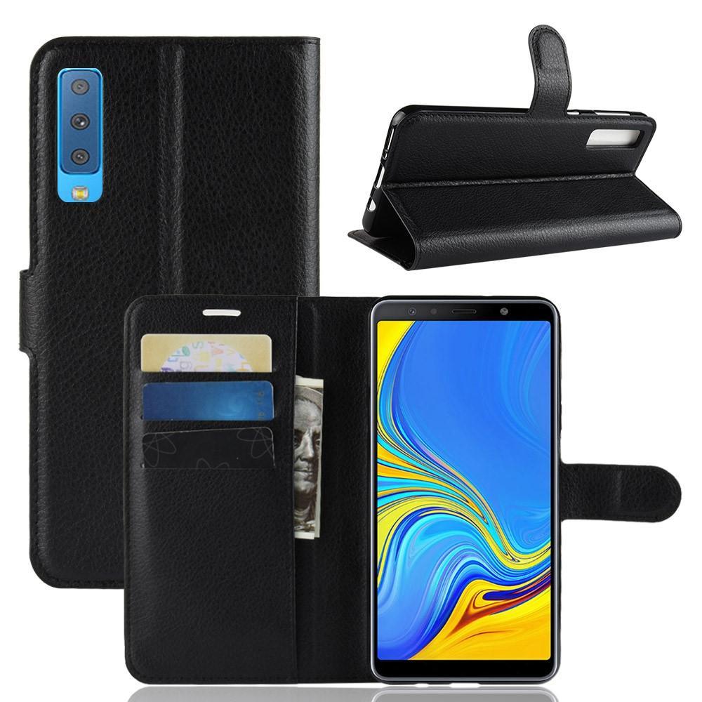 Mobilfodral Samsung Galaxy A7 2018 svart