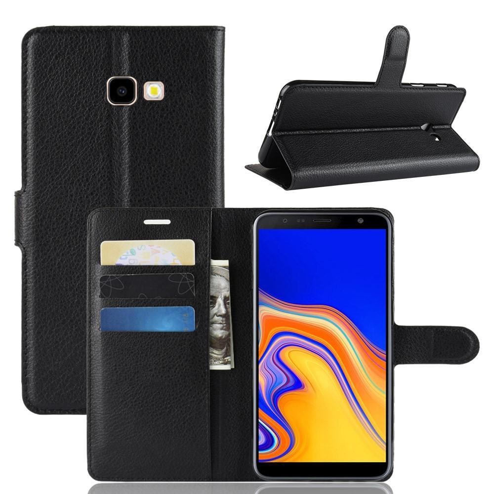 Mobilfodral Samsung Galaxy J4 Plus 2018 svart