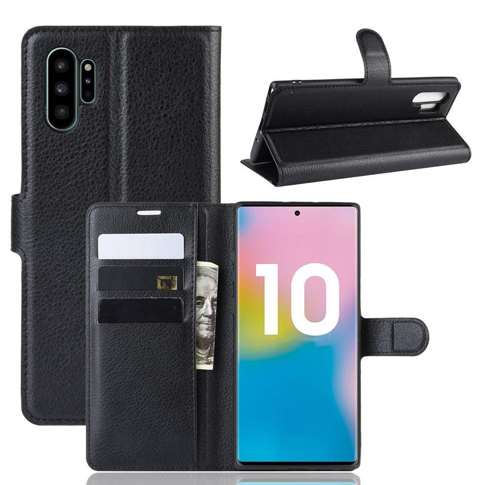 Mobilfodral Samsung Galaxy Note 10 Plus svart