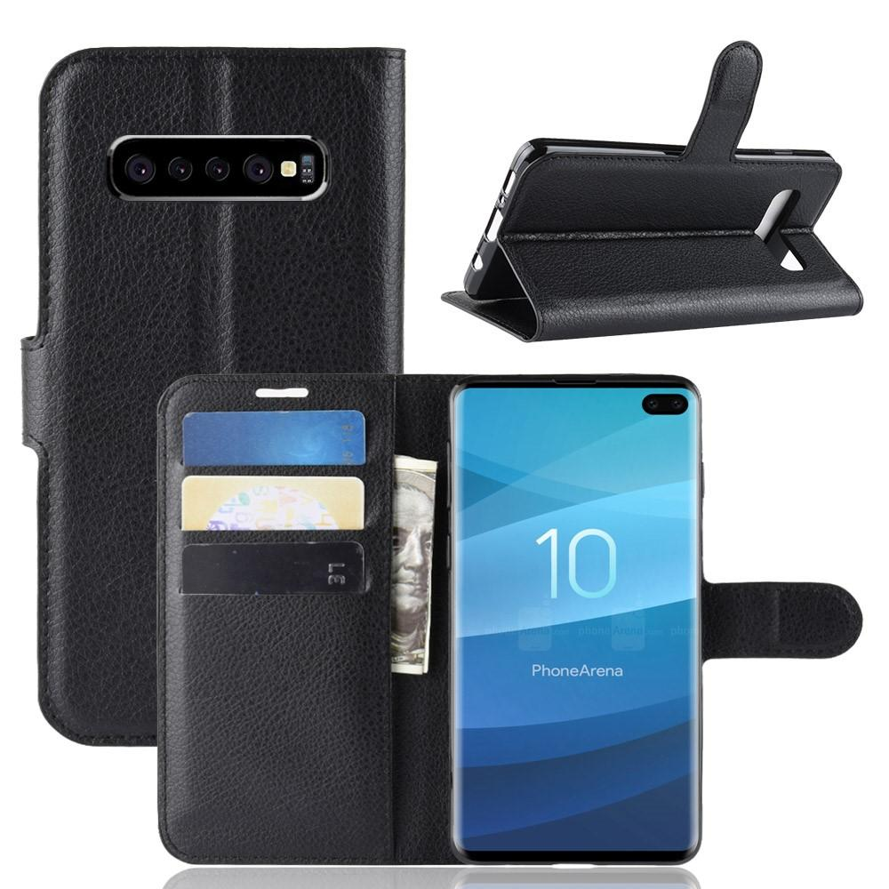 Mobilfodral Samsung Galaxy S10 Plus svart