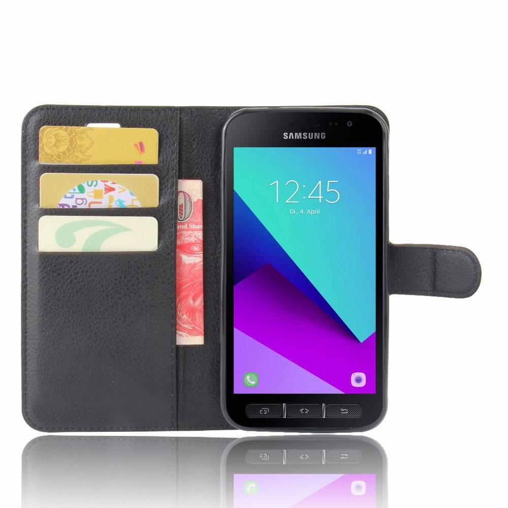 Mobilfodral Samsung Galaxy Xcover 4/4s svart