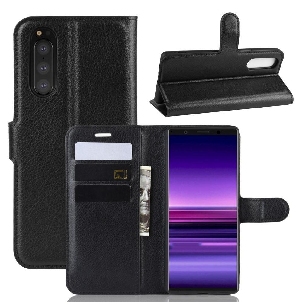 Mobilfodral Sony Xperia 5 svart
