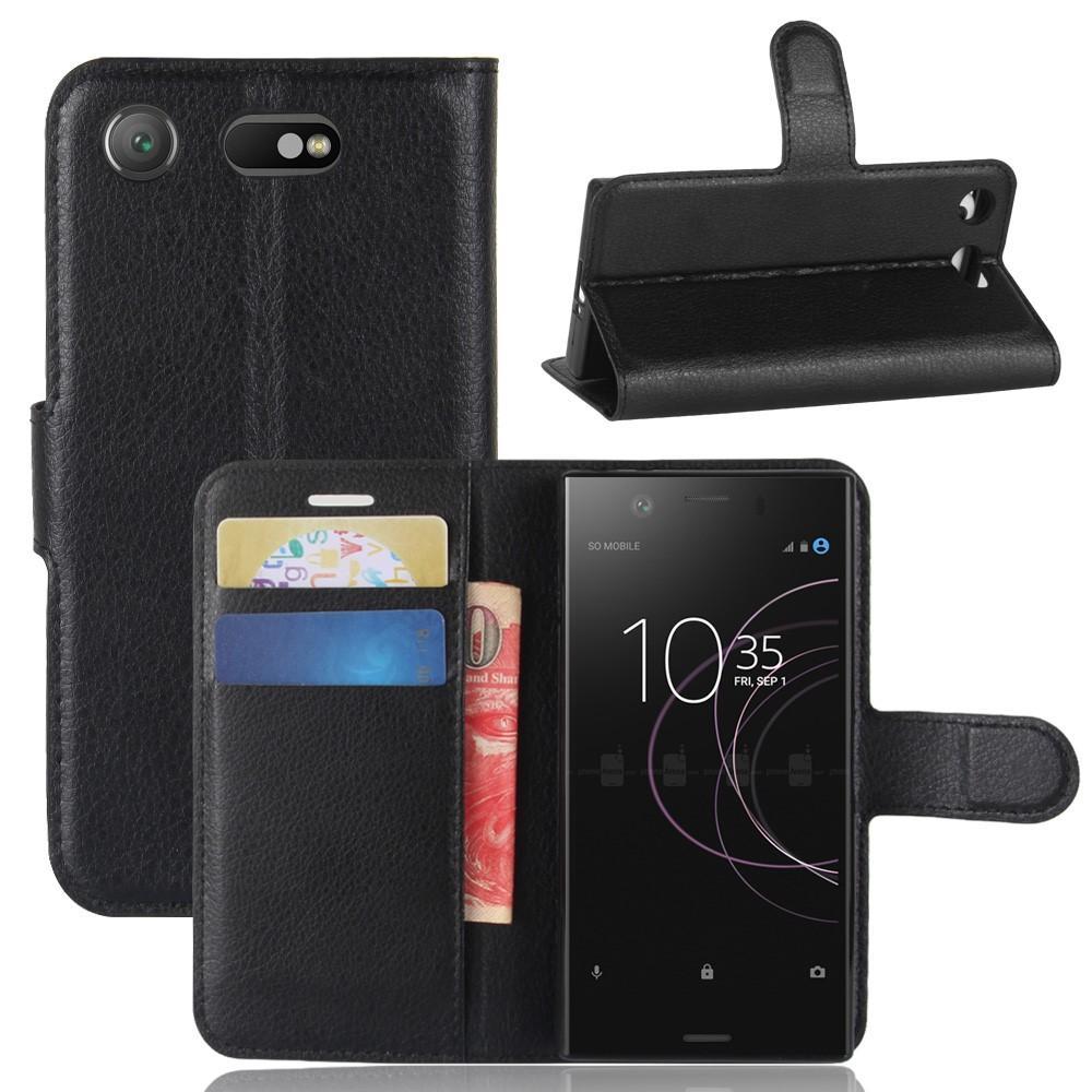 Mobilfodral Sony Xperia XZ1 Compact svart